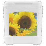 Sunflowers in Bloom Rolling Cooler