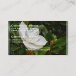 White Magnolia Business Card