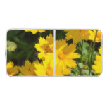 Yellow Coreopsis Beer Pong Table