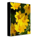Yellow Coreopsis Binder