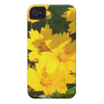 Yellow Coreopsis Case-Mate iPhone 4 Case