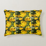 Yellow Coreopsis Decorative Pillow