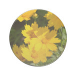 Yellow Coreopsis Drink Coaster
