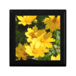 Yellow Coreopsis Jewelry Box