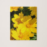 Yellow Coreopsis Jigsaw Puzzle