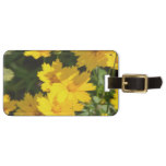 Yellow Coreopsis Luggage Tag