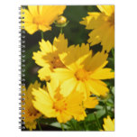 Yellow Coreopsis Notebook
