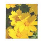 Yellow Coreopsis Notepad