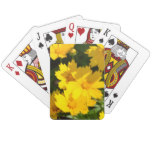 Yellow Coreopsis Playing Cards