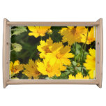 Yellow Coreopsis Serving Tray