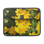 Yellow Coreopsis Sleeve For MacBooks