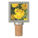 Yellow Coreopsis Wine Stopper