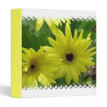 Yellow Daisy Festival Binder