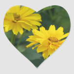 Yellow False Sunflowers Stickers